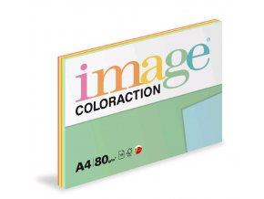 Papír COLORACTION A4 80g/100 mix reflexní 5x20 listů