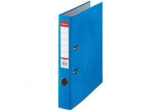 VÝPRODEJ - Pořadač Esselte Rainbow A4 5cm pákový 17920 prešpán modrý