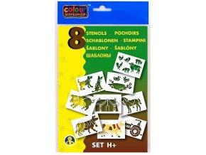 Zboží na objednávku - Šablona na foukací fix set H 9996