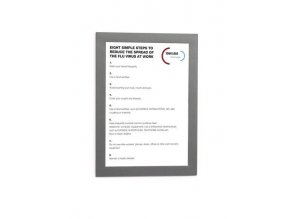Informační rámeček DURAFRAME A5  1ks Durable 4898 stříbrná /samolepicí zadní strana/
