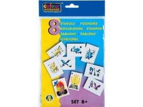 Zboží na objednávku - Šablona na foukací fix set B 9996