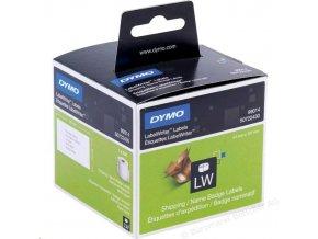 Dymo štítky adresní 54x101mm 220etiket  pro LW 400 S0722430
