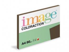 Zboží na objednávku - Papír COLORACTION A4 80g/100 listů Brown hnědá