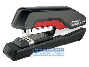 Zboží na objednávku - Sešívačka Rapid Supreme S27 SuperFlatClinch™ 30 listů černá/červená (HS)
