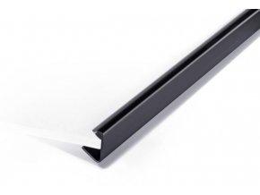 Zboží na objednávku - Násuvná lišta 9-12mm Durable 2912 černá [ POUZE PO 25 ks ]
