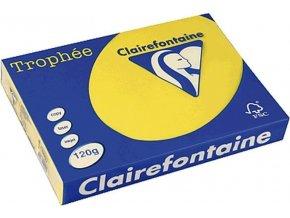 VÝPRODEJ - Papír Clairefontaine A4/ 80g/500 1877 intenzivní žlutá