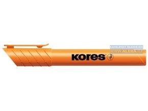 Zvýrazňovač Kores HIGH LINER Plus 0,5-5 mm, oranžový