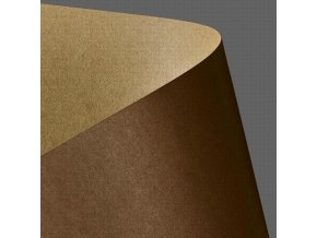 Papír Galerie Standart A4/275gr.20 listů Kraft hnědá