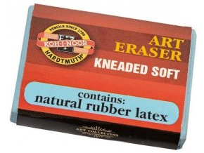 Pryž 6421/18 soft plastická stěrací Koh-i-noor v manžetě