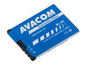 Baterie do mobilu Nokia 3600 Slide, 2680 Li-Ion 3,7V 860mAh (náhrada BL-4S)