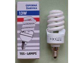 Tes-lamp úsporná žárovka E14 13W 2700K