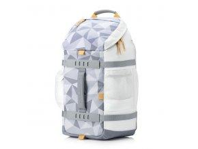 """Batoh na notebook 15,6"""", Odyssey Facet, bílý z polyesteru, HP"""