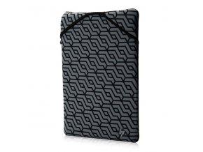 "Sleeve na notebook 13.3"", Reversible - Geometric, šedý z neoprenu, HP"