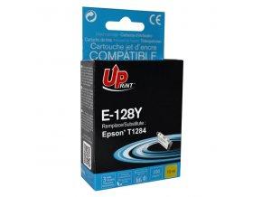 UPrint kompatibilní ink s C13T12844011, yellow, 230str., 5ml, E-128YE, pro Epson Stylus S22, SX125, 420W, 425W, Stylus Office BX30