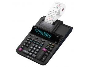 Casio Kalkulačka DR 420 RE, černá, stolní s tiskem, dvanáctimístná
