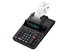 Casio Kalkulačka FR 620 RE, černá, stolní s tiskem, dvanáctimístná