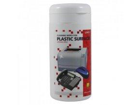 Čistič LOGO ubrousky plast dóza/100ks - zvýšený účinek