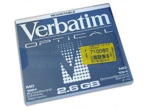 Disk MO 2.6GB Verbatim