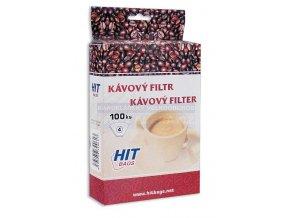 Zboží na objednávku - Kávový filtr č.4 100ks v balení