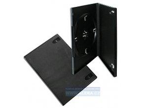 Box na DVD/2ks černý