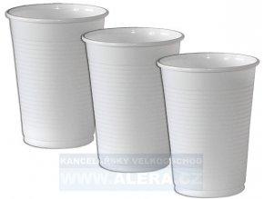 Kelímek-plast 0,2/100ks bílý