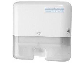 TORK 552100  Zásobník na ručníky Interfold MINI  plast bílý   H2