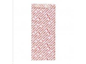 Sáček papírový - Párek v rohlíku 8x17cm  100ks
