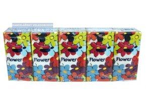 Kapesníky papírové-balení 10x10ks  3-vrstvé 100% celulóza