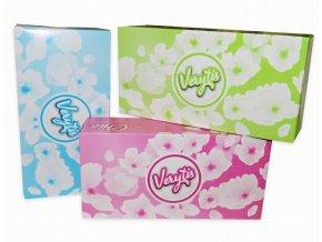Kapesníky papírové kosmetické /150ks  VERYTIS 2-vrstvé bílá