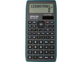 Kalkulačka Sencor SEC 150 BU - školní, vědecká, 240 funkcí