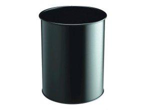 Zboží na objednávku - Odpadkový koš METAL ROUND 15 P/30 Durable 3301 černá