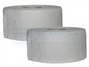 Papír WC JUMBO průměr 240mm - ŠEDÁ / 6rolí