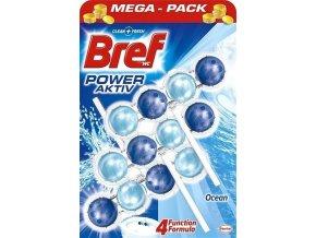 Bref Power activ OCEAN / 3ks blistr - wc závěs - kuličky