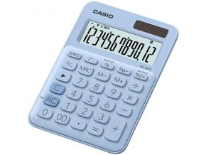 Kalkulačka Casio MS 20 UC LB světle modrá