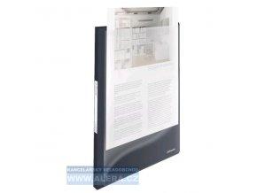 VÝPRODEJ - Katalogová kniha A4 Esselte Vivida s přední kapsou 20kapes 624010
