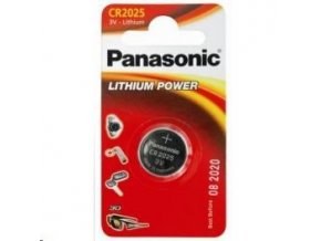 Baterie Panasonic lithiová mincová 3V CR2025EP/1ks