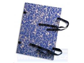 Zboží na objednávku - Desky spisové s tkanicí A5 strojní EKO mix barev, mráček(pouze po20-ti ks)