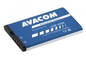 Baterie do mobilu pro Avacom, LG KP100, Li-Pol, 3.7V, GSLG-KP100-600, 600mAh, 2.2Wh