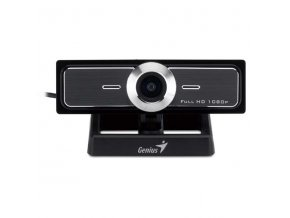 Genius web kamera WideCam F100, 5Mpix, USB, černo-stříbrná