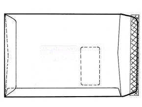 Zboží na objednávku - Obálka C4 1ks taška krycí páska vnitřní potisk okno horní vlevo Slovensko
