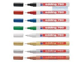 Popisovač Edding 780, 0.8mm lakový