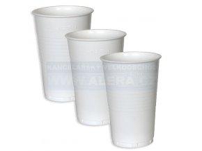 Kelímek-plast 0,3/100ks bílý (0,25l)