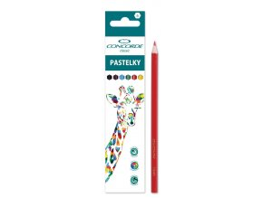 Pastelky 6ks CONCORDE CLASSIC Safari