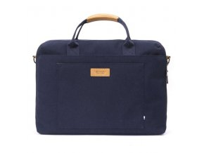 """Taška na notebook 15"""", Subra Navy blue, modrá z polyesteru, Golla"""