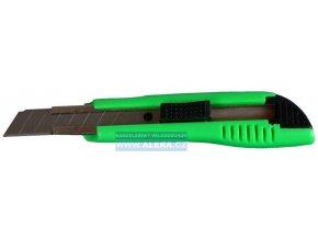 Nůž ulamovací velký s vodicí lištou plastový /24 ks