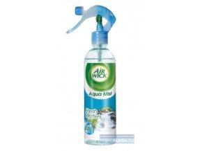 AIR WICK Aqua-mist 345ml spray s MR osvěžovač - svěžest vodopádu