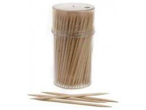 Párátka  150ks 2-hrotá bambusová - dóza