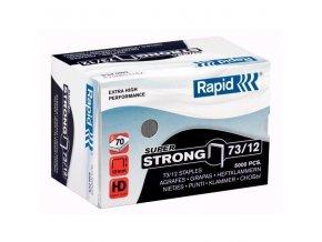 VÝPRODEJ - Spony do sešívačky 73/12  5000ks Rapid Super Strong