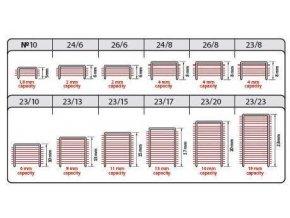 Spony do sešívačky 24/6  2000ks 484