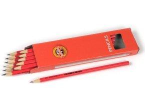 Tužka č.1 Koh-i-noor 1703 /1 červená 12 ks /bal.